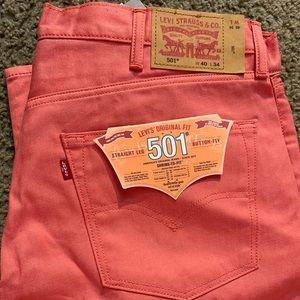 Men's 501 Jeans.